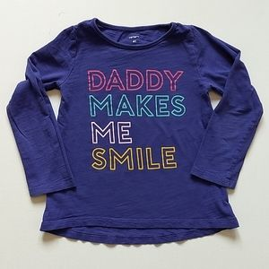Purple Long Sleeved Shirt * Size 4T